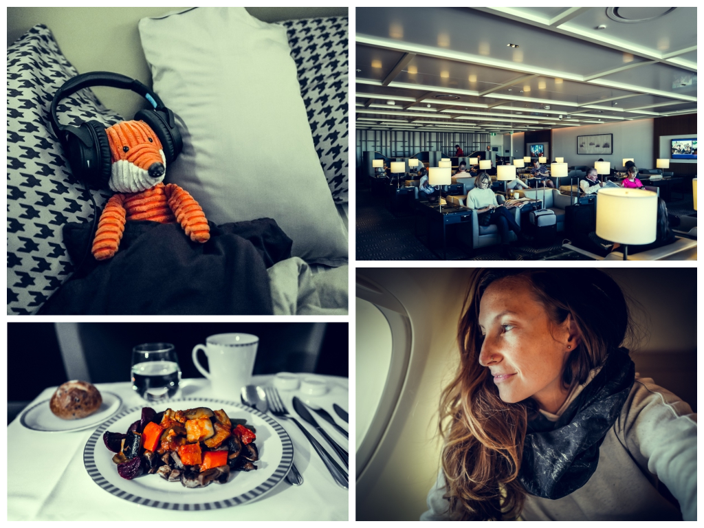 Business Class von Singapore Airlines