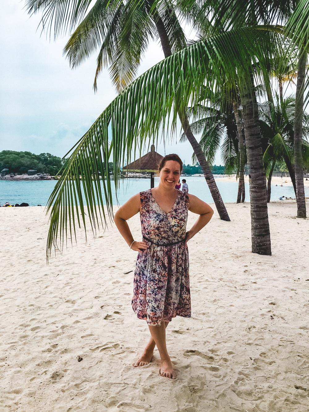 Singapur Weltreise Australien Indonesien Backpacker Strand Indischer Ozean