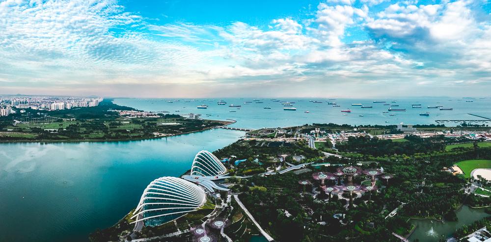 Singapur Weltreise Australien Indonesien Backpacker Marina Bay Sands