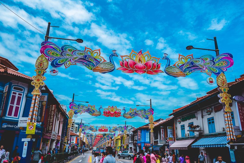 Singapur Weltreise Australien Indonesien Backpacker Indian Street