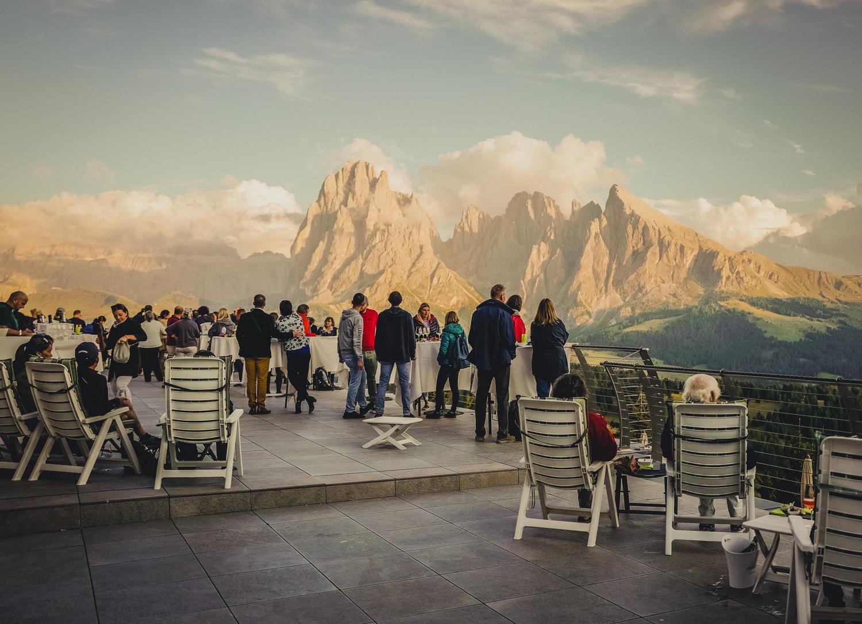 Burning Dolomites - Aperitivo Lungo auf der Seiser Alm