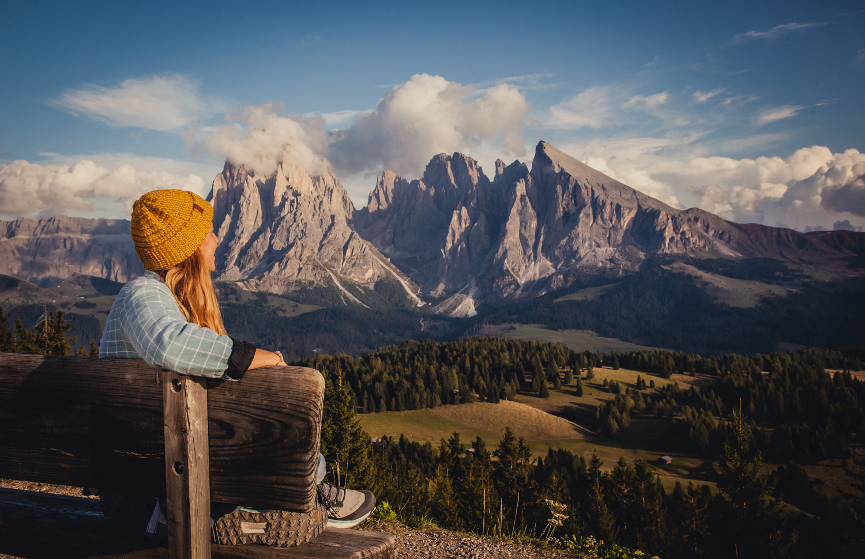 UNESCO-Welterbes - der Dolomiten