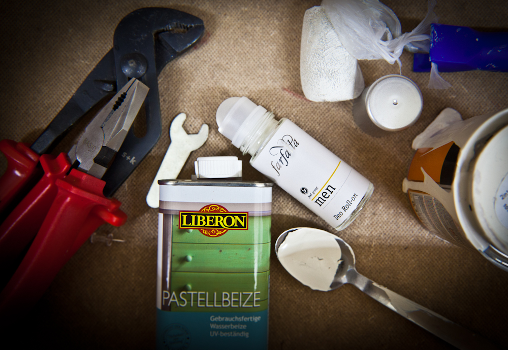 Kosmetik für echte Naturburschen und Heimwerkerkönige: FARFALLA feel great - MEN FSD FOTO