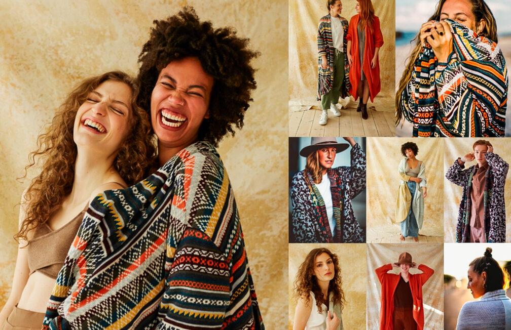 Freiseindesign x AnnaMariaAngelika Slow Fashion Mäntel Vegan Berlin Peru